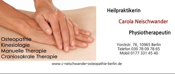 Osteopathie Carola Neischwander