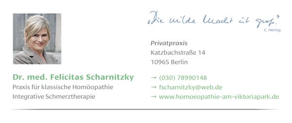 Dr. med. Felicitas Scharnitzky - Privatpraxis für klassische Hömöopathie