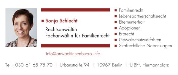 Anwältinnenbüro Sonja Schlecht
