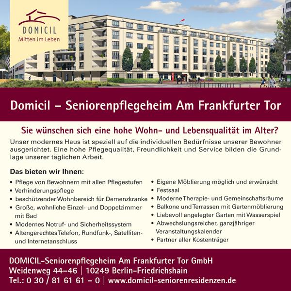 Domicil Seniorenpflegeheim