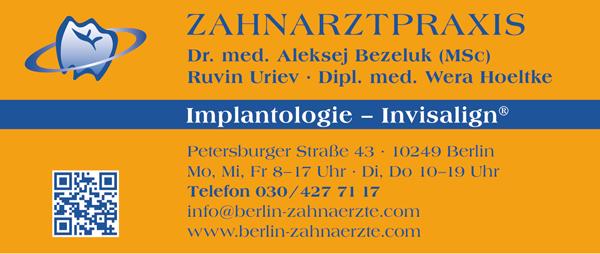 Zahnarztpraxis Herr Dr. Aleksej Bezeluk & Partner