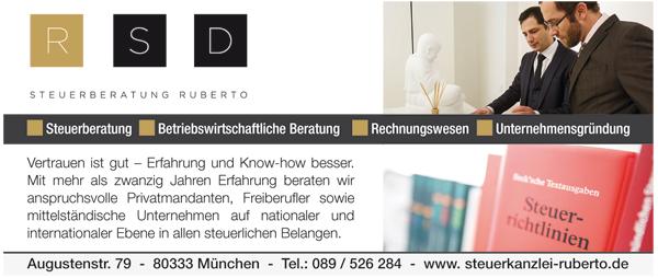 Job´s, bei Steuerbüro Ruberto in München