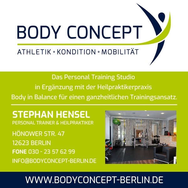 News von Body Concept