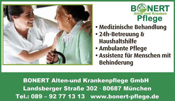 News von Bonert Alten und Krankenpflege