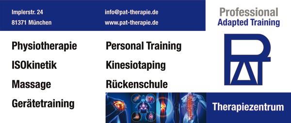 Neue Wirbelsäulenkurse bei PAT Professional Adapted Training