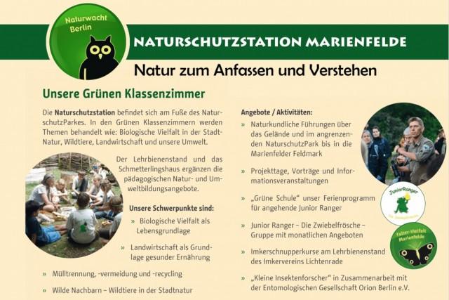 Neue Veranstaltungstermine der Naturwacht Berlin im Mai 2019