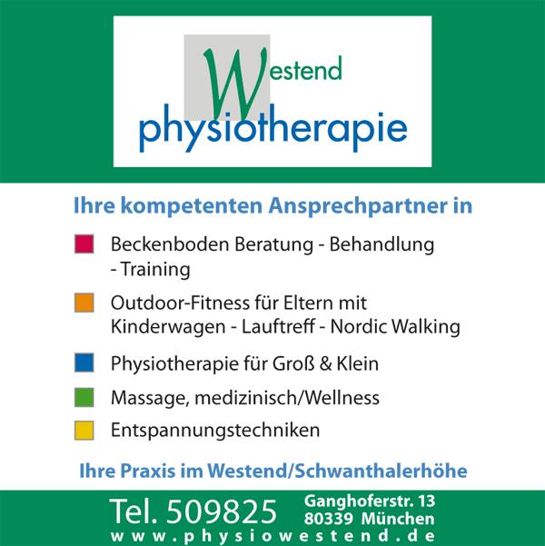 Angebot zum Kauf einer Physiotherapiepraxis in München-Schwanthalerhöhe