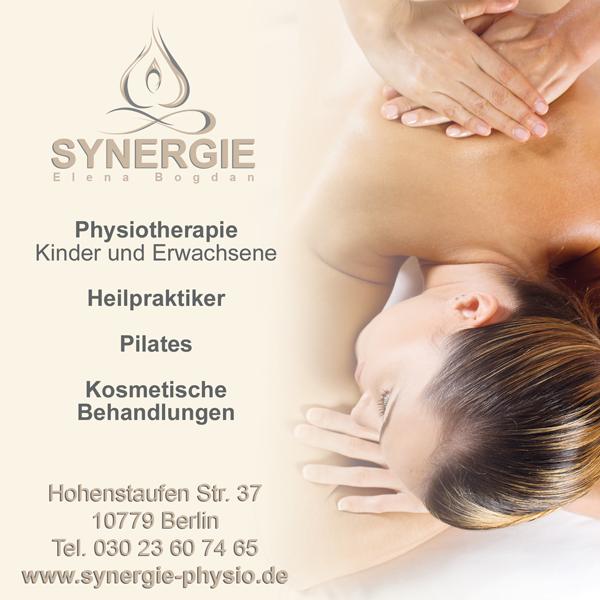 Synergie Berlin Elan Bogdan I Heilpraktiker I Physiotherapie I Kosmetik I Pilates sucht: ein/e Kosmetiker/in. Angestellte in 15-20 Stunden oder Freiberufler!