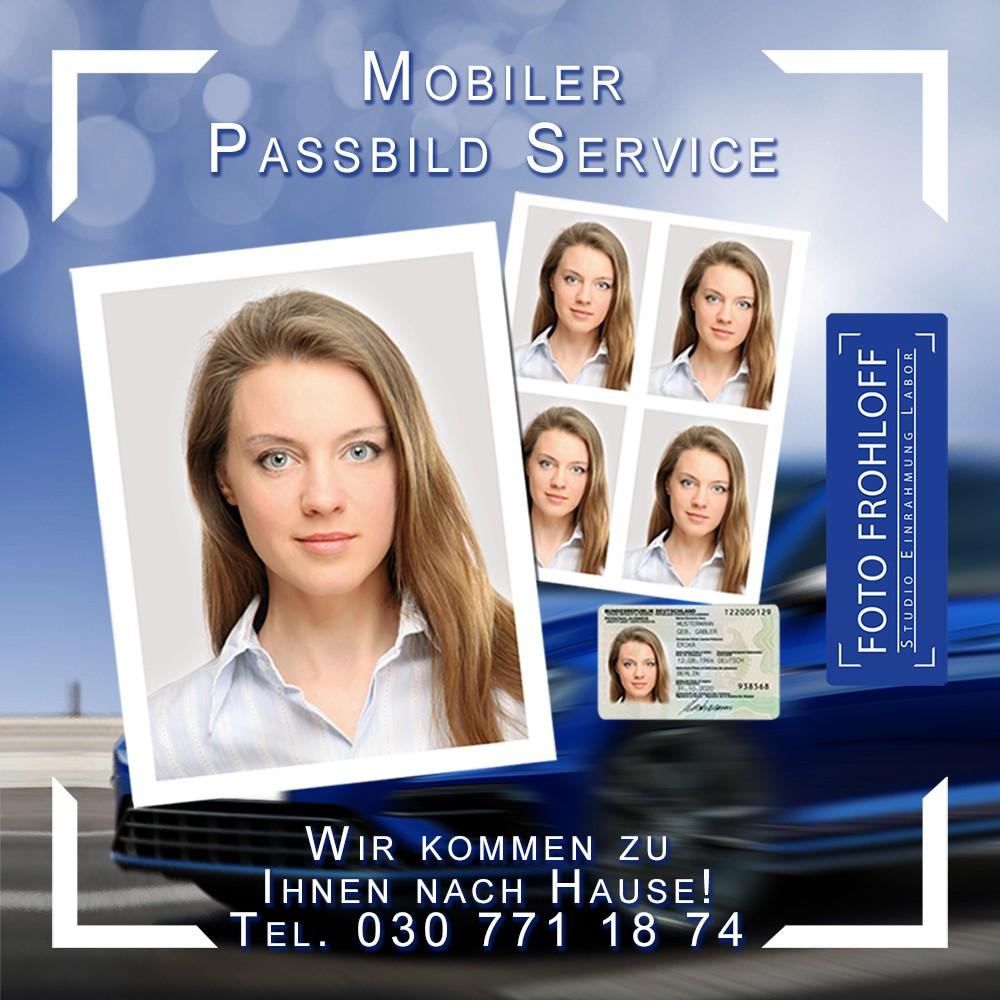 Mobiler Passbild-Service - Foto Frohloff in Lichterfelde