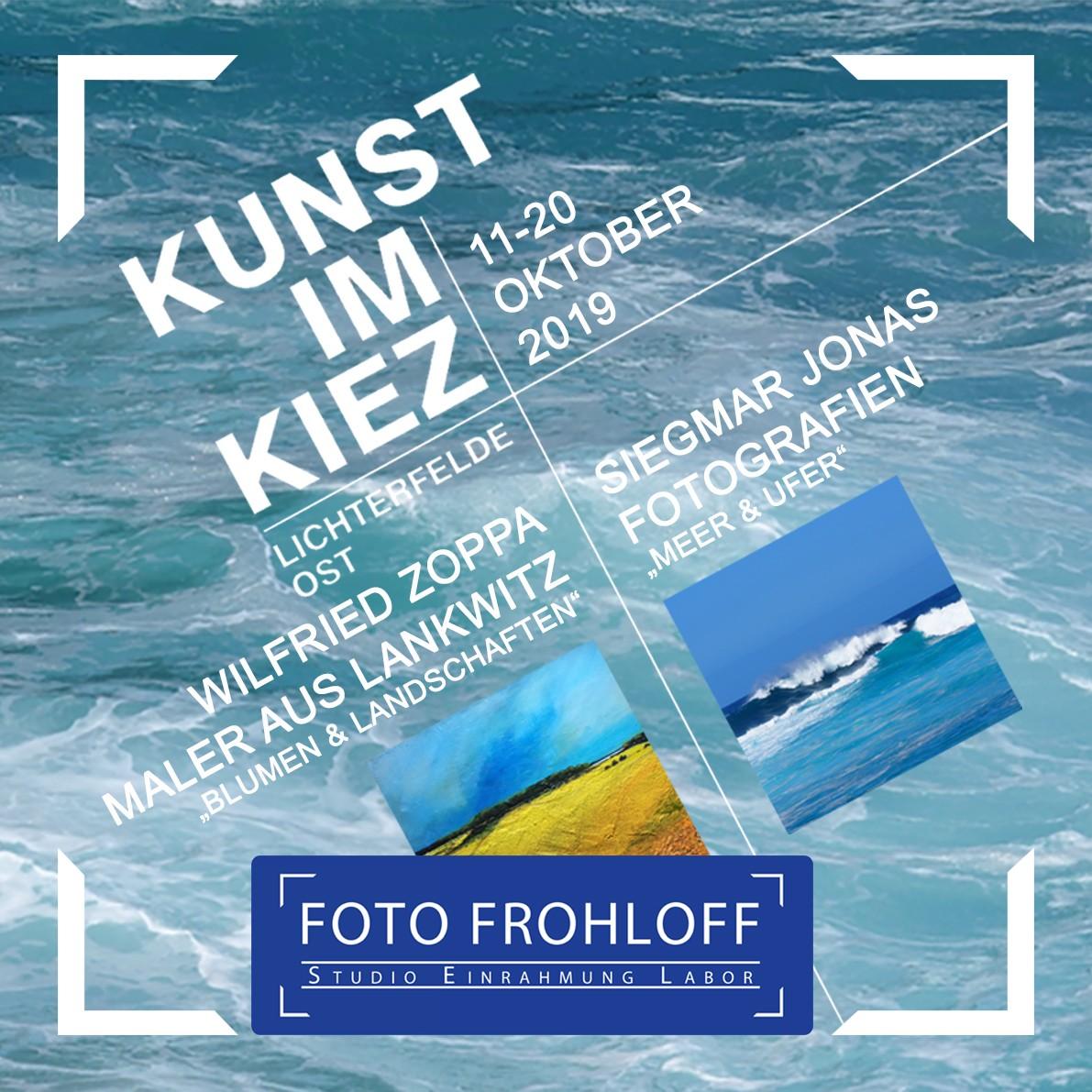 Kunst im Kiez 11- 20 Oktober 2019 - Lichterfelde Ost