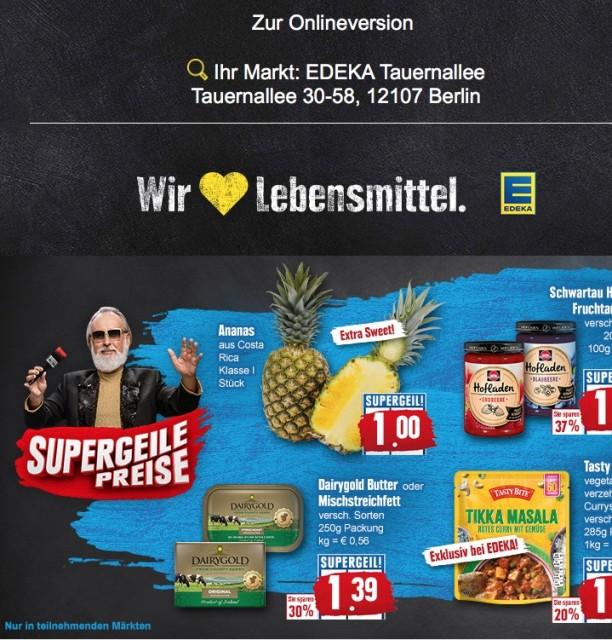 EDEKA Tauernallee - Online-Prospekt