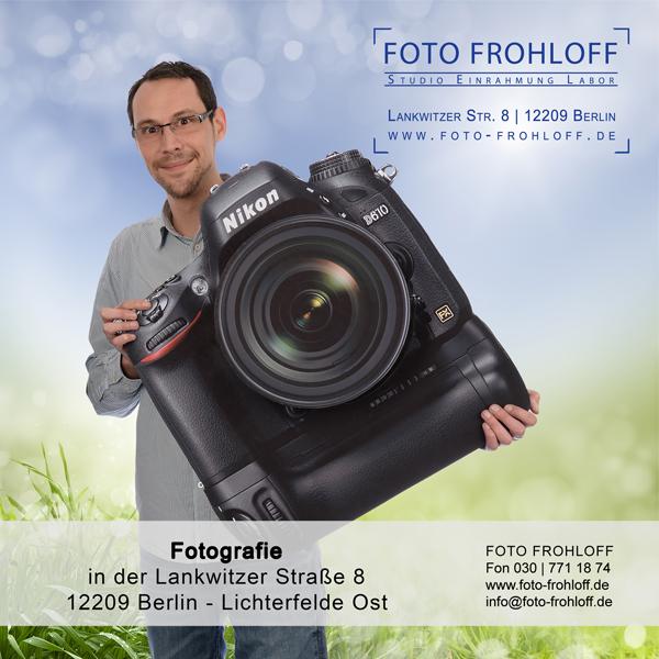 FOTO FROHLOFF sucht Mitarbeiter