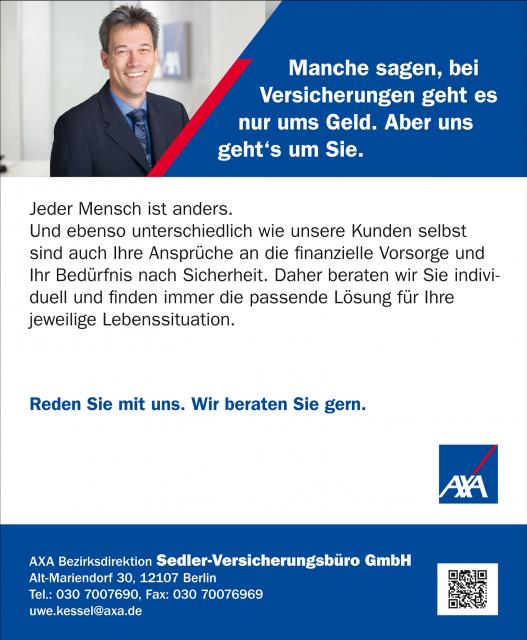 News von Sedler Versicherungsbüro GmbH in Berlin - Erben Und Schenken