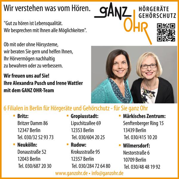 """Jobs bei """"ganz Ohr"""" Hörakustiker/in"""