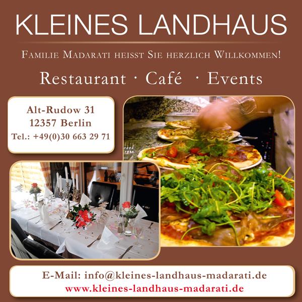 """News von """"Kleines Landhaus"""" in Rudow"""