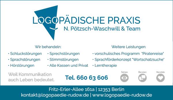 "Jobs bei ""Logopädische Praxis N. Pötzsch-Waschwill & Team"