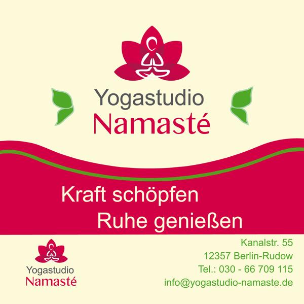 News und neue Kurse bei Yogastudio Namaste´