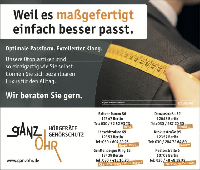 """News von """"Ganz Ohr"""" in Berlin"""