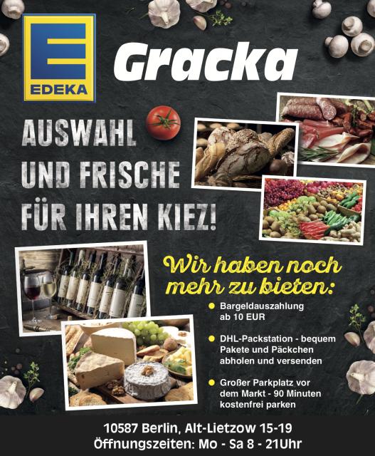 EDEKA GRACKA- Mit mobiler Teststation