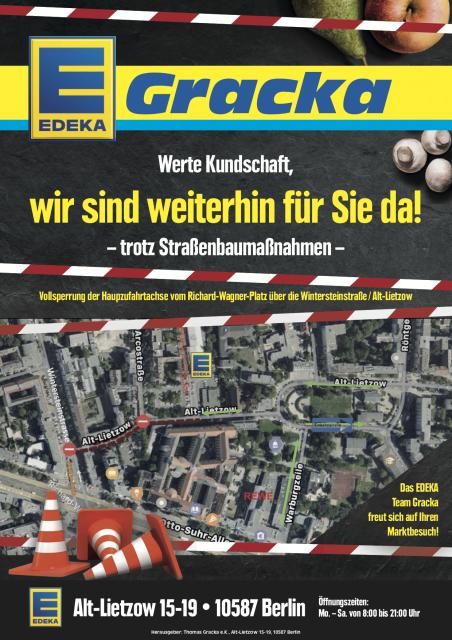 News von Edeka Gracka in Charlottenburg