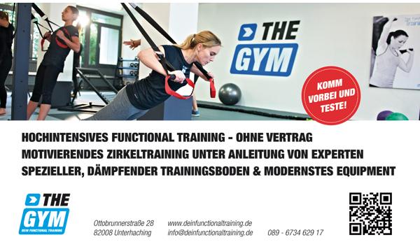 Trainee für unseren Partner: The GYM Unterhaching