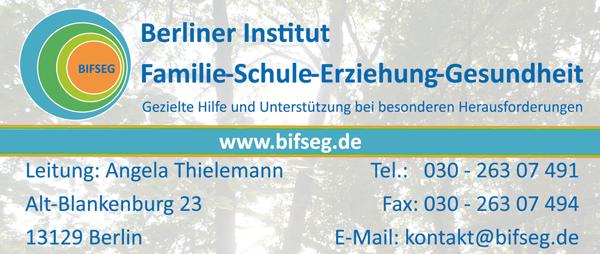 Job´s des Berliner Institut, Familie-Schule-Erziehung-Gesundheit