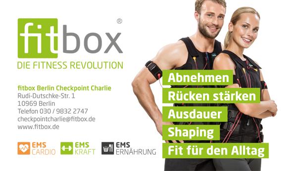 Job´s bei Fitbox in Berlin