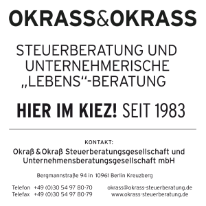 Job´s, bei Steuerberater OKRASS&OKRASS in Berlin
