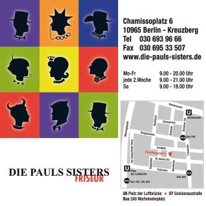 """Job´s, bei Salon """" Die Paul Sisters """" in Berlin"""