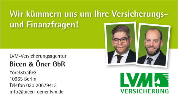 Job´s, bei LVM Versicherungsagentur in Berlin