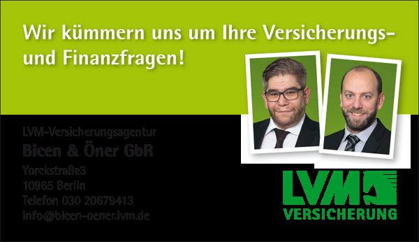 Job´s, bei LVM Versicherungsagentur in Berlin