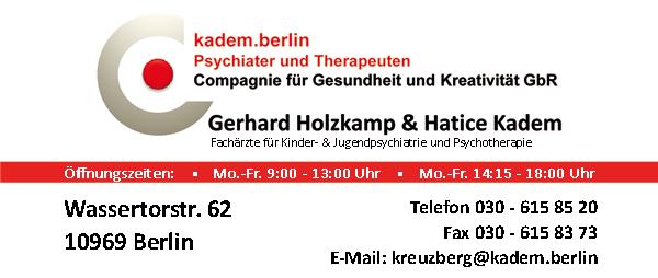 Job´s bei kadem.berlin  Psychiater und Therapeuten Zentrum für Kinder, Jugendliche und Erwachsene in Berlin