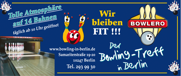 Job´s, im Bowlero Berlin