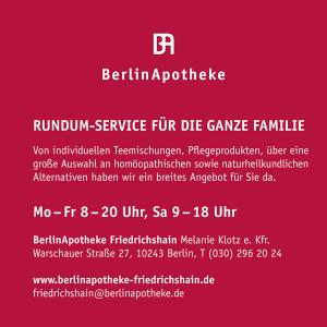 Job´s, bei der Berlin Apotheke in Berlin