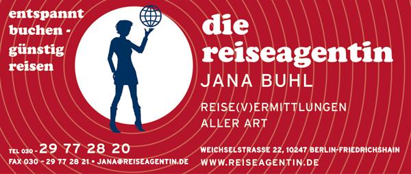 "Job´s, bei "" die Reiseagentin "" Jana Buhl in Berlin"