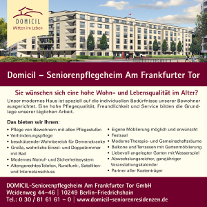Job´s, bei Domicil in Berlin