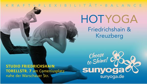 Job´s und Ausbildung bei SunYoga in Berlin
