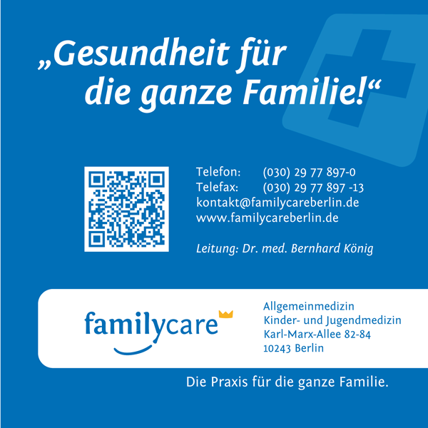 Job´s, bei Familycare in Berlin