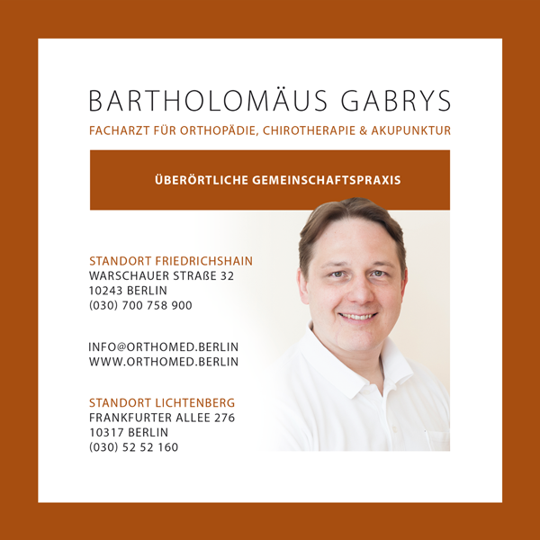 Job´s, bei Praxis für Orthopädie Bartholosmäus Gabrys in Berlin