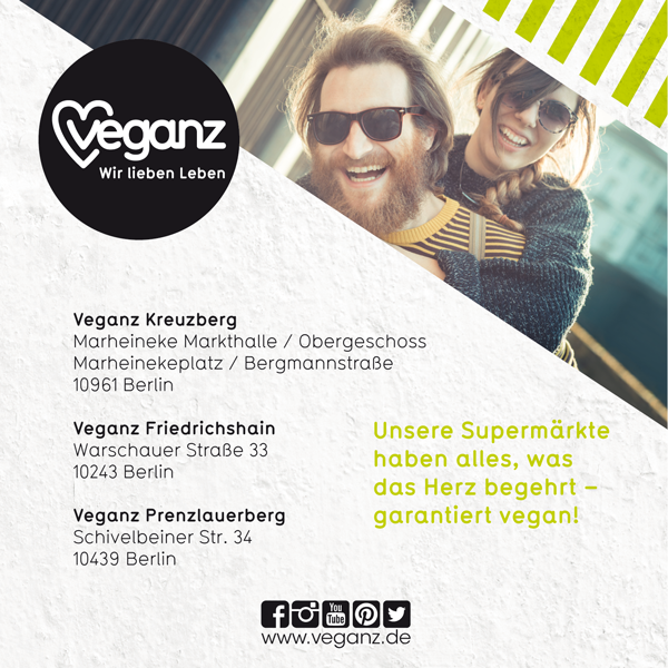 Job´s, bei Veganz in Berlin
