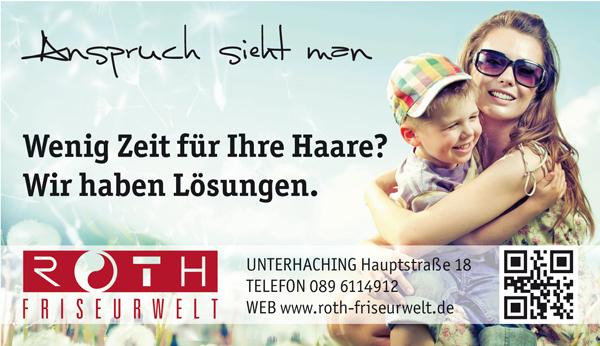 Job´s, bei Roth Friseurwelt in München Unterhaching