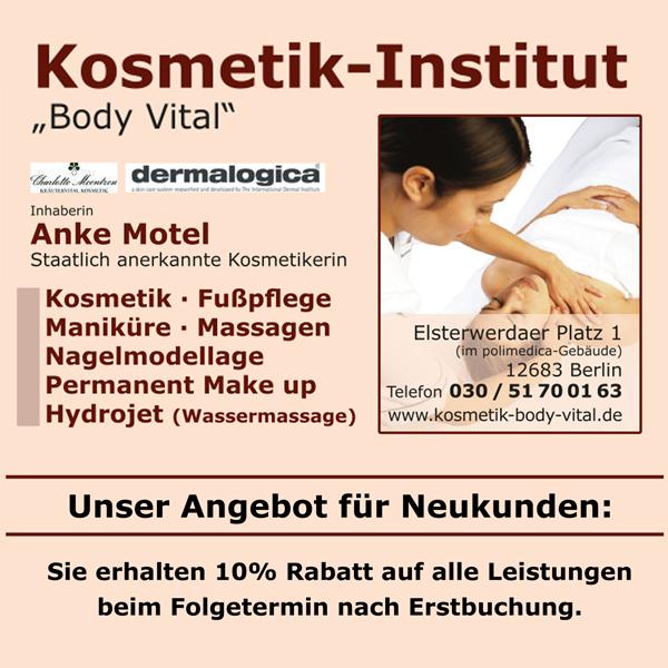Kosmetik-Institut Body Vital