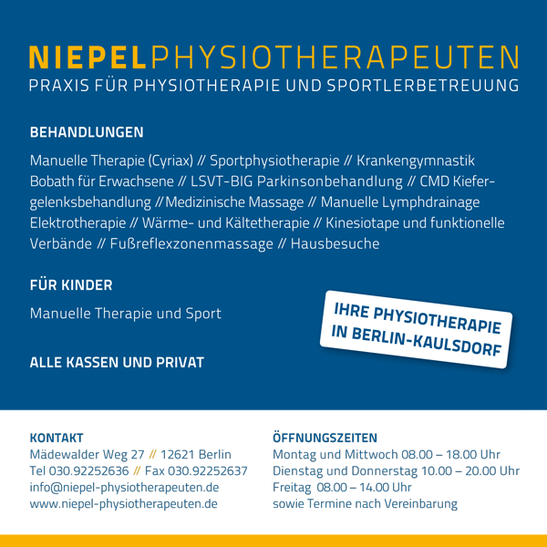 Pfysiotherapie Niepel
