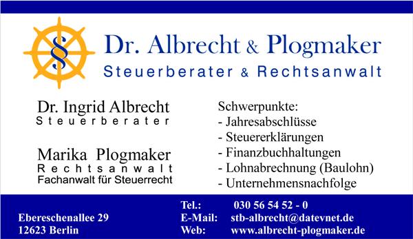 Steuerberater Dr. Albrecht & Partner