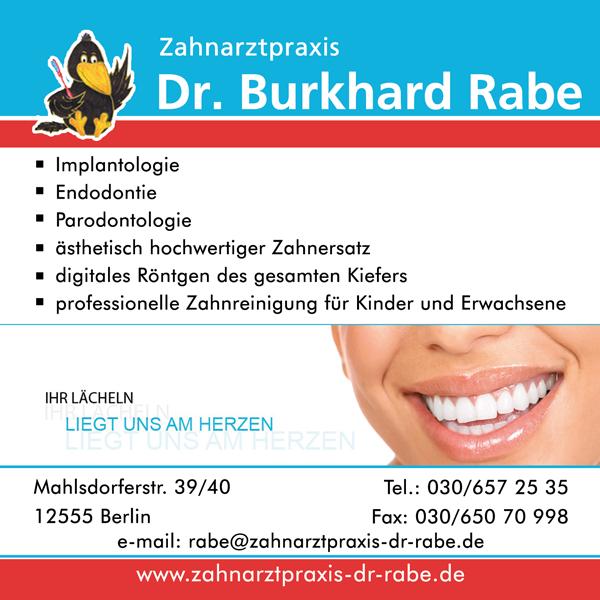 Dr. Burkhard Rabe Zahnarzt