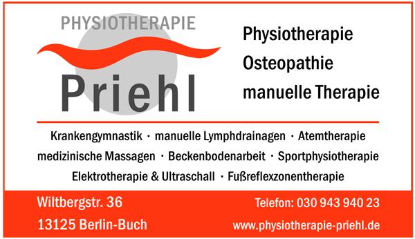 Praxis für Physiotherapie und manuelle Therapie Kirsten Priehl