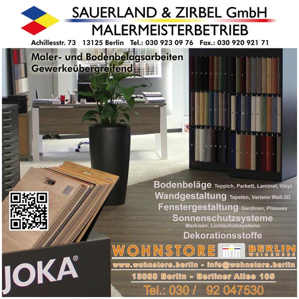 Malermeisterbetrieb Sauerland & Zirbel GmbH