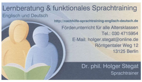 Lernberatung & funktionales Sprachtraining