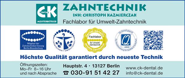 Zahntechnik CK Dental Christoph Kazmierczak