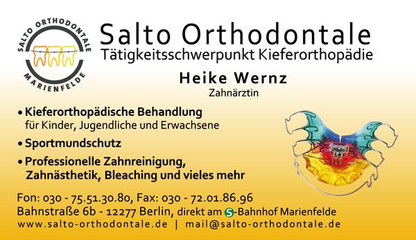 Salto Orthodontale Kieferorthopädie